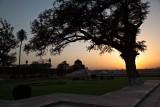 Sunset in Baby Taj garden