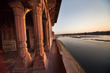 Sunset at Yamuna Riverside