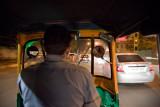 Inside the Auto Riksha