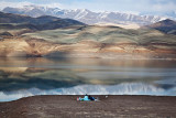 Lake of Taleghan Dam