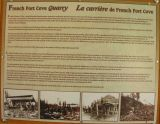 French Fort Cove Quarry - history