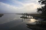 Fog over Creek