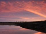 Along Huspah Creek after Sunset