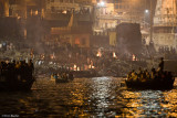 The Cremation Fires Of Varanasi