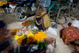 Selling flowers to give as offering