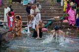 Sunrise Bathing on the Ganga