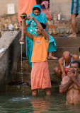 Offerings to Mother Ganga