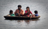 Life on the canals of Cochin (Southwest India)