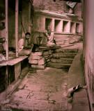 Side streets of Varanasi