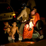 Begging in Chaotic streets of Delhi