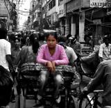 Ride through Old Delhi