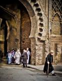 Through the gates of the Fes Medina