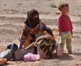 Wash Day At The Well (Sahara)