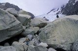 The entrance to Piedras Blancas Glacier