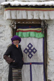 Drigung Qu village, interested on the foreigners