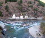 From Left: Nepalese/Tibetan/Bhutanese Stupas