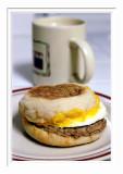 Turkey Sausage Egg Muffin