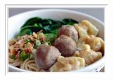 Beef Ball Wonton Noodle