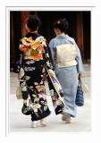 Ladies With Kimonos