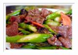 Mushroom Beef Asparagus