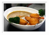 Fried Shrimp Curry Rice