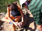 Lynn Repairs a Blister