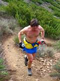Dave Terry Running Up Chumash