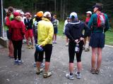 gathering for the run