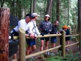 scott meets us at cascade falls