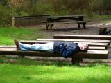 marc takes a nap