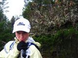 cool lichen behind jamie