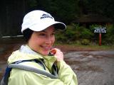at mountian lake
