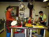 alison & marcia cooking