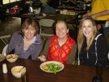 Marla, Leah & Susan enjoying good conversation over another great vegan meal. Marcia you rock!