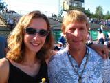Krissy Moehl & Gene Trahern