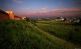 Çàêàò íàä ñòåíàìè Ñïàñî-Åâôèìèåâîãî ìîíàñòûðÿ. Sunset over Spaso-Yevfimiyev Monastery