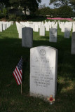 Audie Murphy burial site at Arlington National Cemetery
