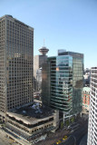The view from our room at the Pan Pacific