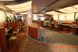 Internet Cafe on the Diamond Princess