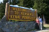 Welcome Sign to the Kenai Peninsula