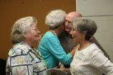 Margaret Oliver, Glenda Miller, Fred and Bettye Span
