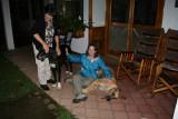Cathy, Angela & Muki (Great Dane)