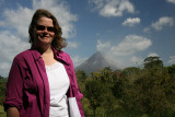 Ang w/Arenal Volcano in the background