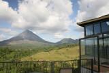 Arenal Volcano from Hotel linda Vista