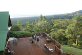 Arenal Volcano viewing deck at Arenal Observatory Lodge