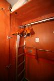 Cabin 5567 - closet