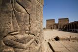 Philae Temple detail