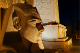 Rameses statue at Luxor Temple