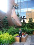 Anchorage Whale Statue