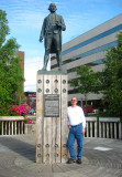 Anchorage Capt Cook Statue